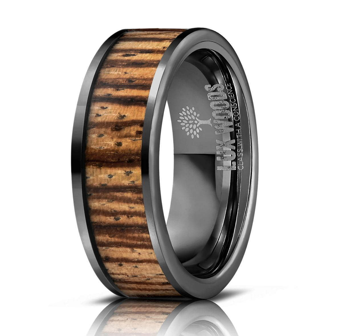 Wood and metal ring Photography