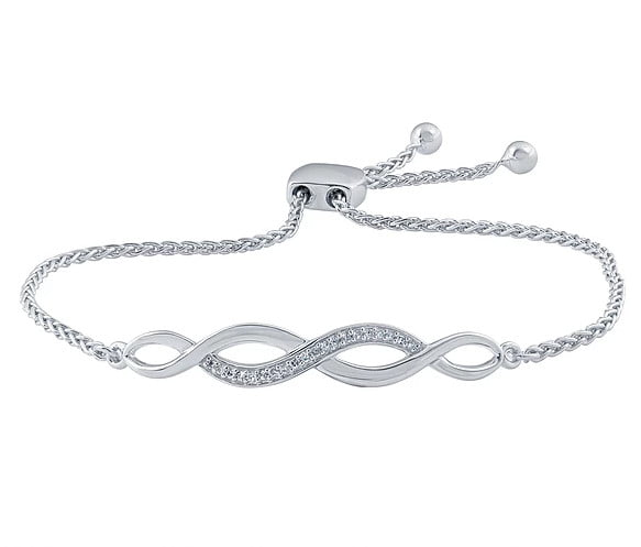 White gold Bracelets photography