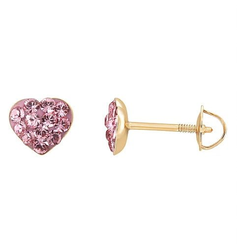 pink heart jewelry photography