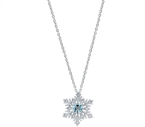 Snow Flake Pendant photography