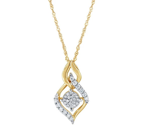 Gold Diamonds Pendant photography