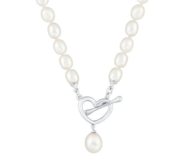 heart Pearl Pendant photography