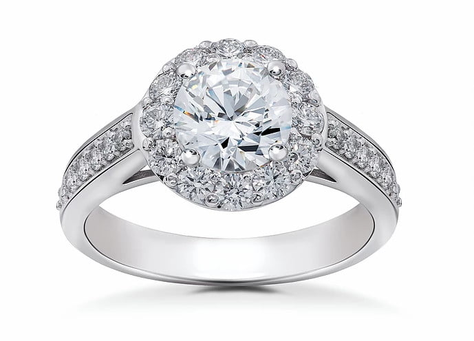 Engagement diamond ring photography