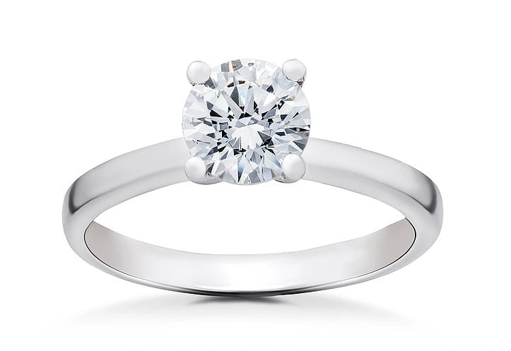 Round Diamond Ring photography