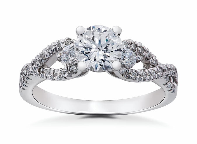 Diamond Engagement ring photography