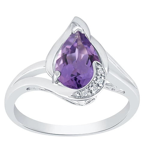 purple Ring jewelry photography
