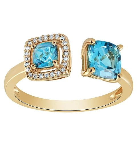 Topaz ring photography