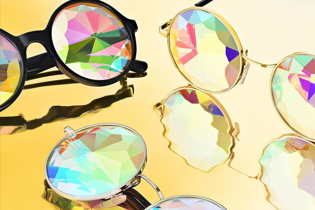 Picture of Glasses in colors