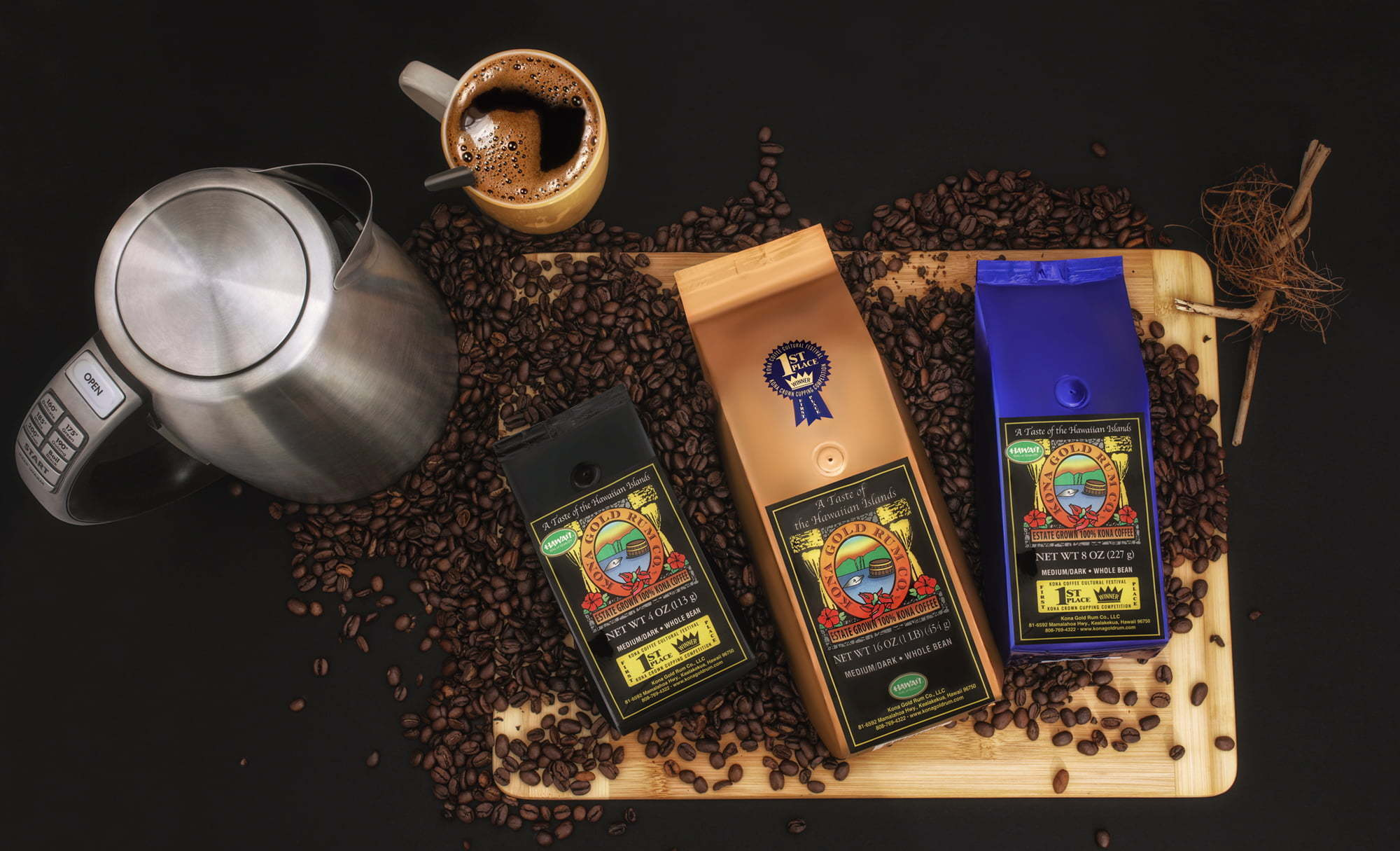 Product Photography Coffee Beans