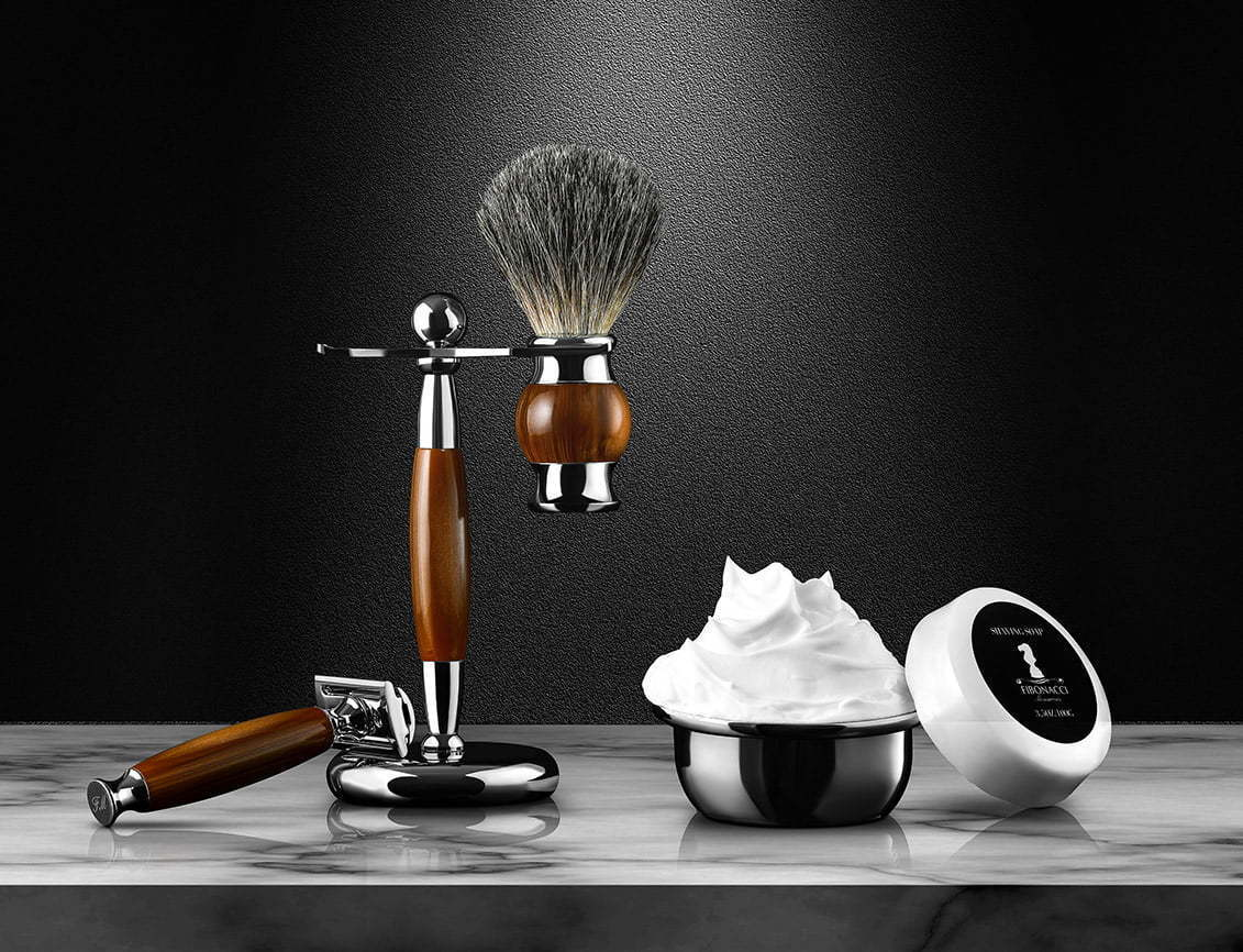 Shaving tools Lifestyle photography