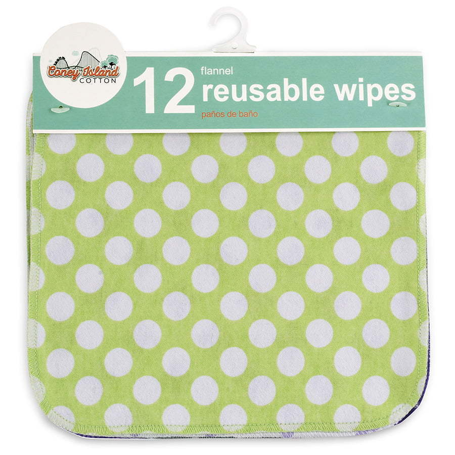 Children'd reusable fabric wipes packaging photography