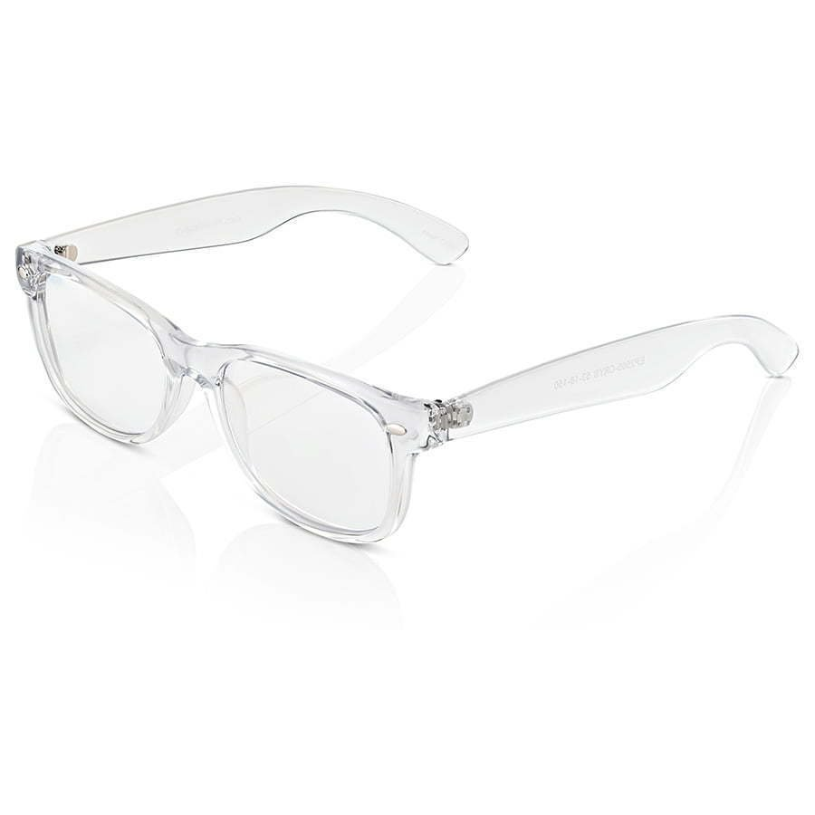 side view of a pair of eyeglasses photography