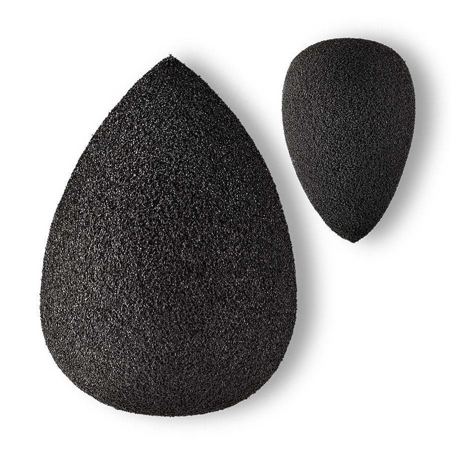 black makeup beauty sponges photography