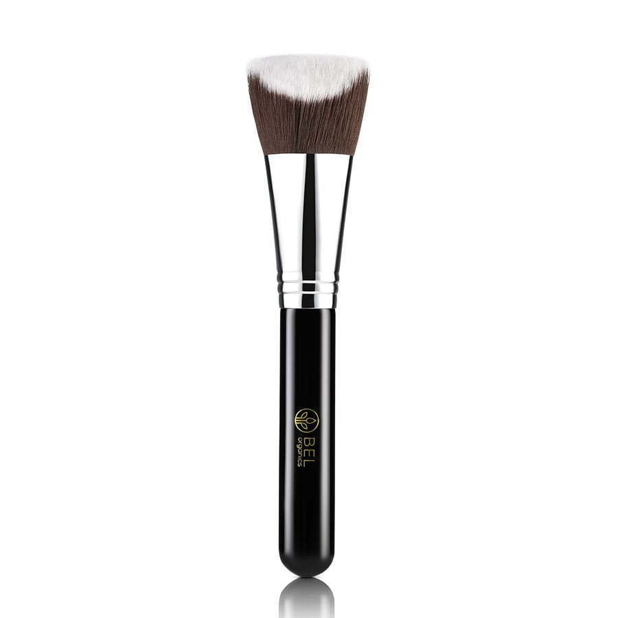 face makeup cosmetic brush with black handle photography