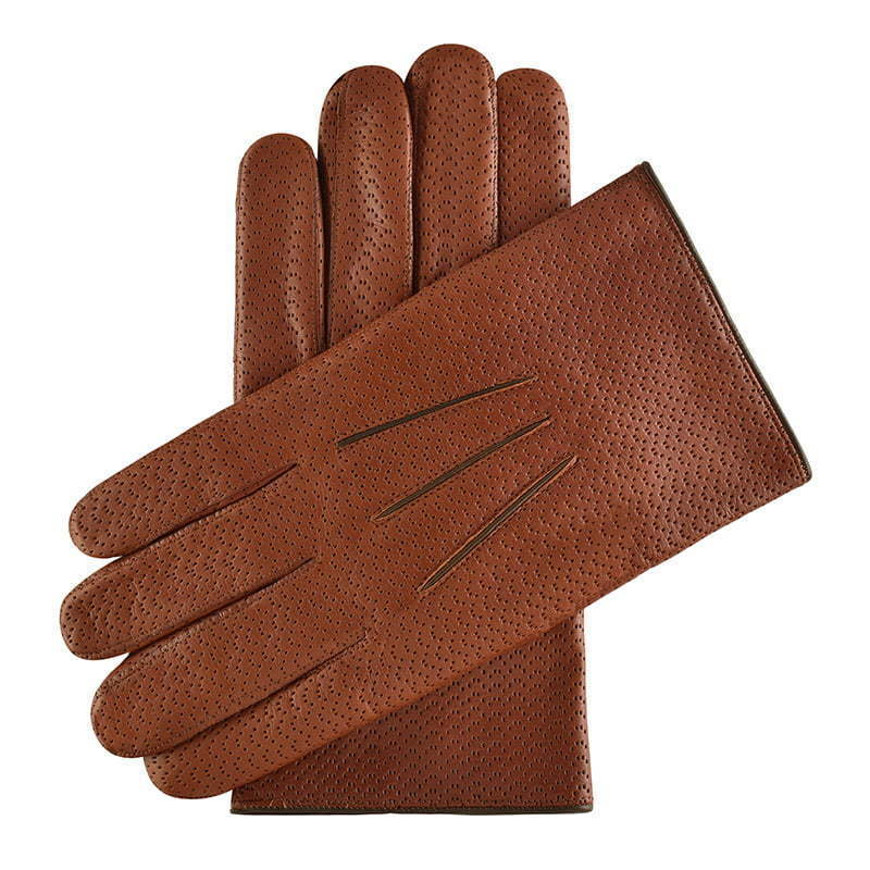 a pair of brown leather gloves apparel photography