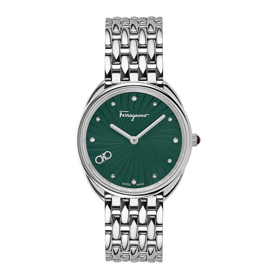 Ferragamo-watch-Green-face