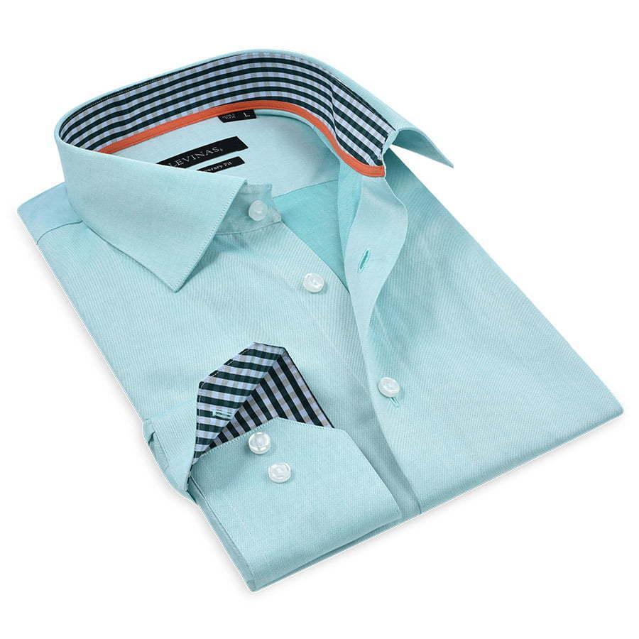 Green-Dressy-shirt-folded-photography