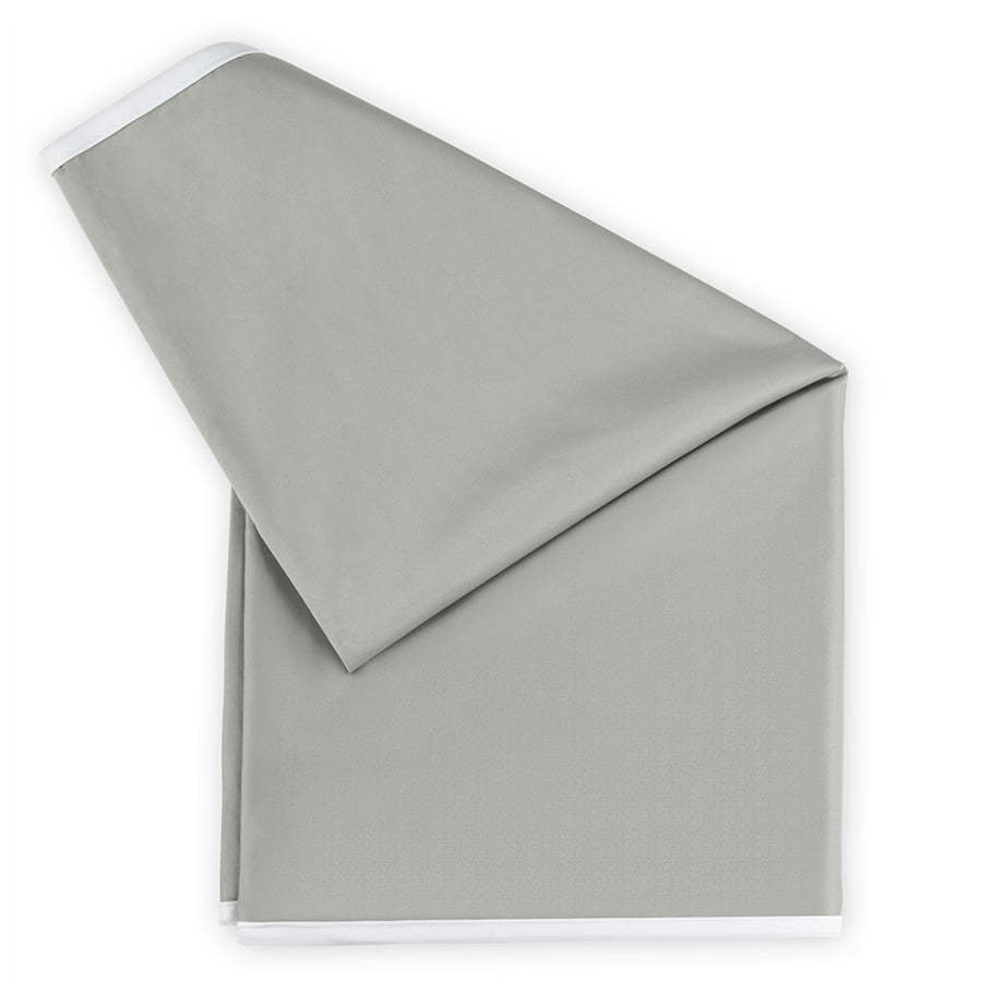 taupe grey folded blanket pillow case cover baby product photography