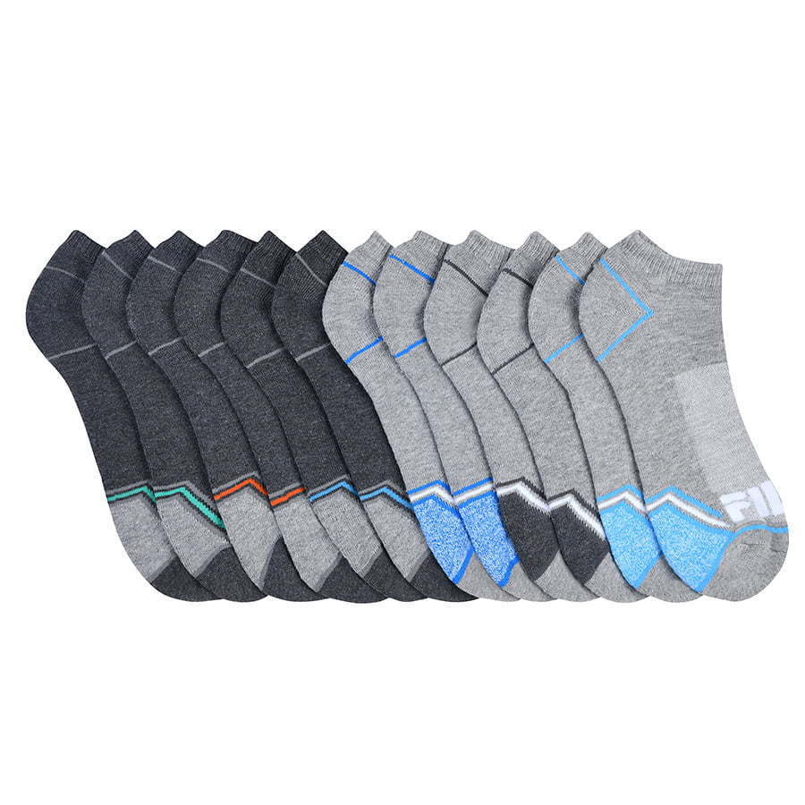 large group of grey ankle socks photography
