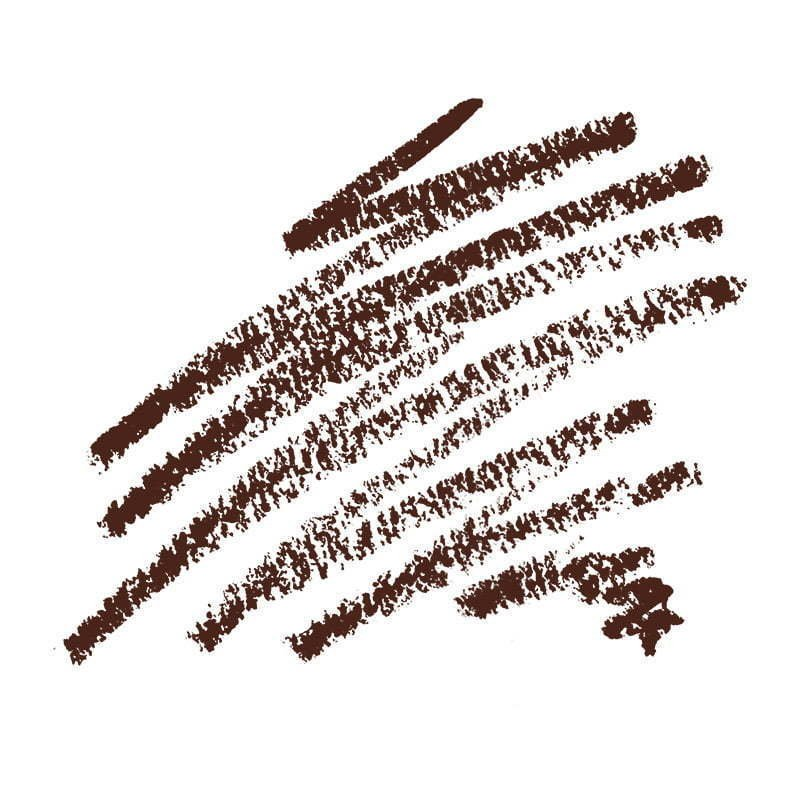 brown cosmetic pencil swatch makeup photography