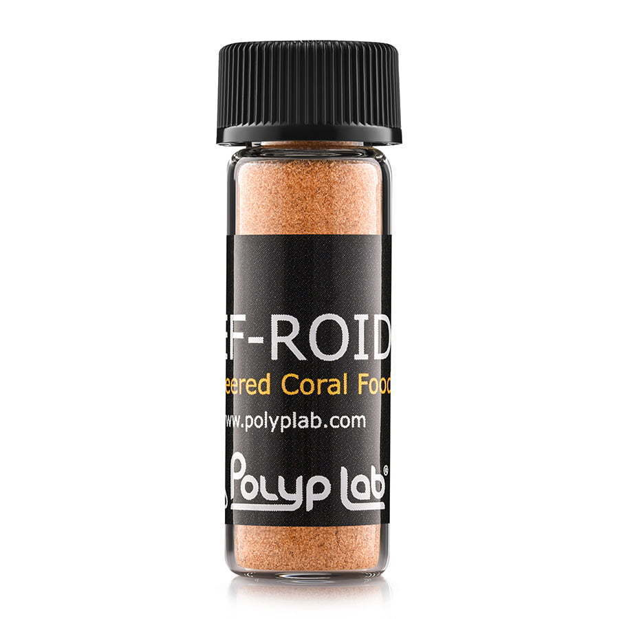 reef-roid powder  health nutrition product photography