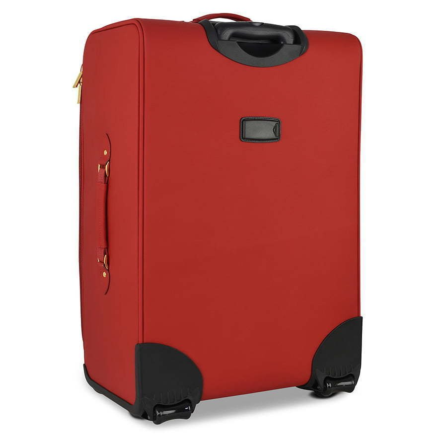 Red suitcase photography