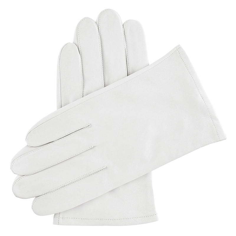 a pair of white leather gloves apparel photography