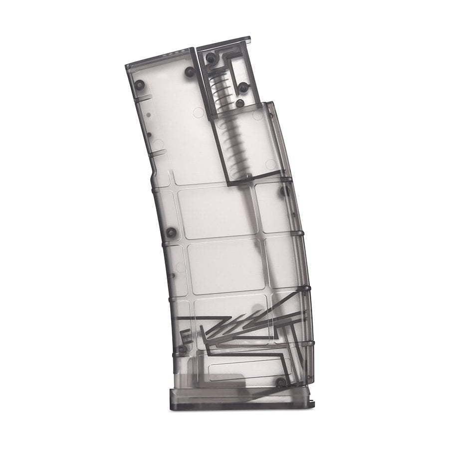 plastic gun pellet holder photography