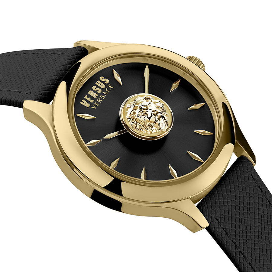 Versus-side-gold-and-black-watch-photography