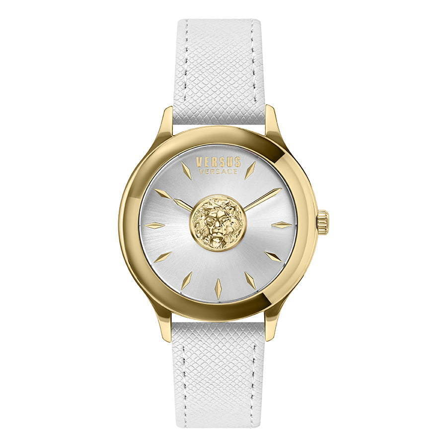 Versus-white-and-gold-watch-photography