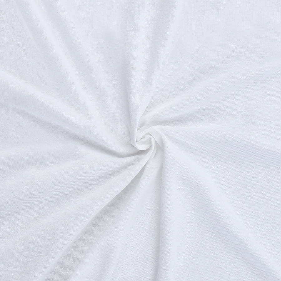 White Fabric detail photography