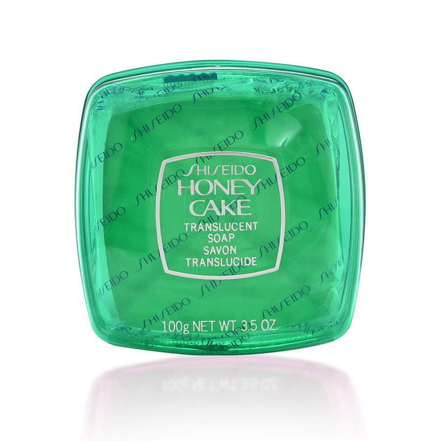 Green honey care plastic case skincare photography