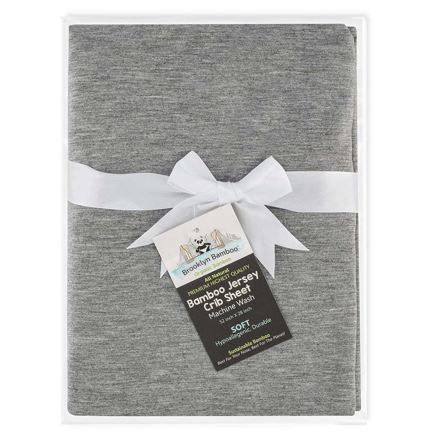 Grey baby crib sheets photography