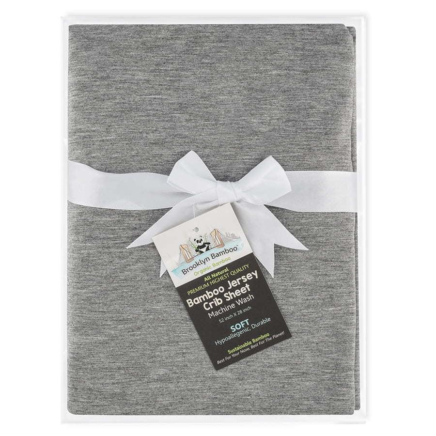 Grey baby crib sheets photography
