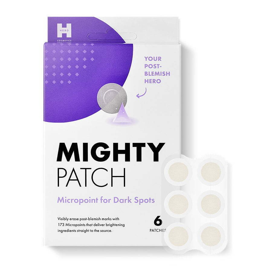skincare pimple acne patches with packaging photography