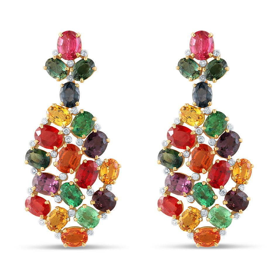 a-picture-of-a-colored-diamond-earrings-on-a-white-background