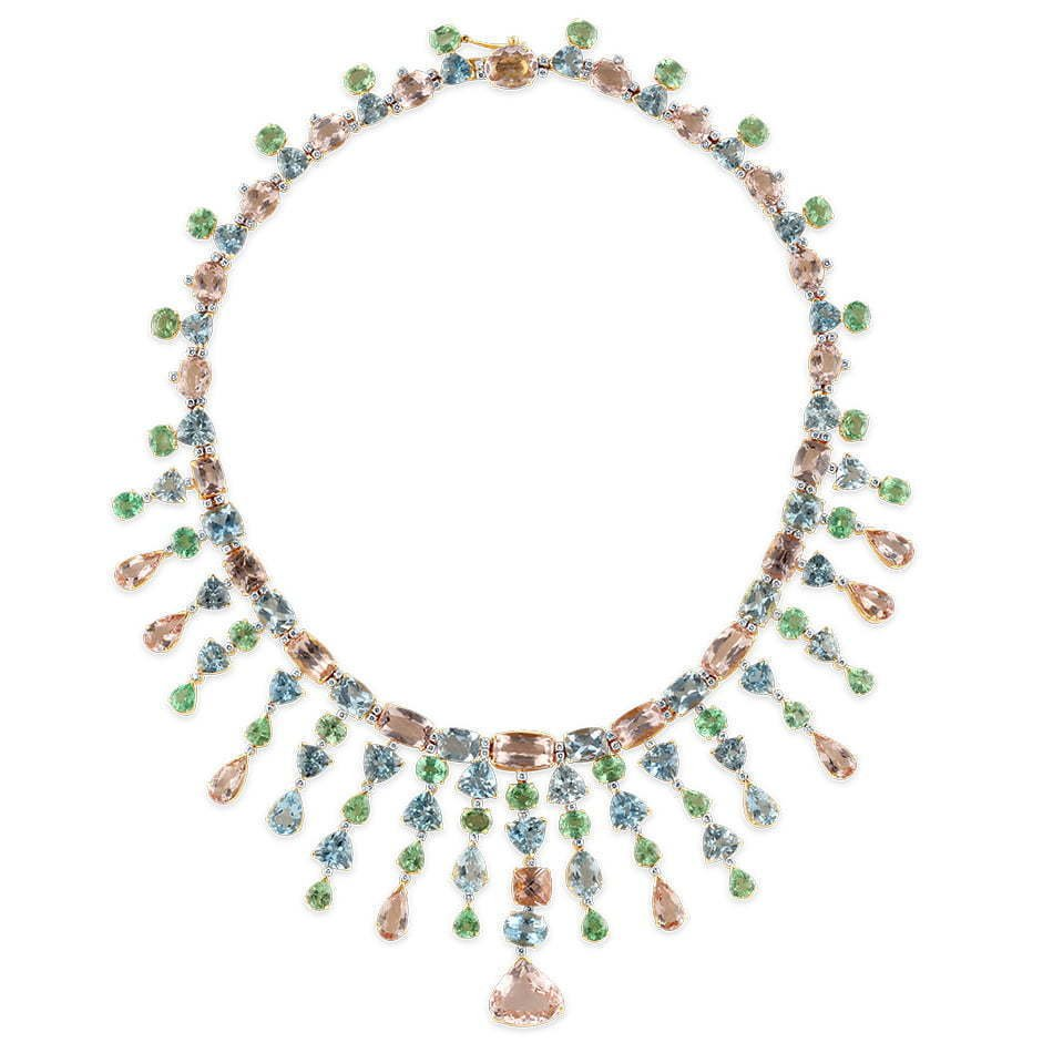 a-picture-of-a-colored-diamond-necklace-on-a-white-background