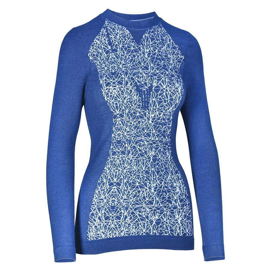 ghost blue long s shirt
