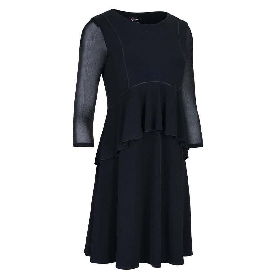 ghost dress side black