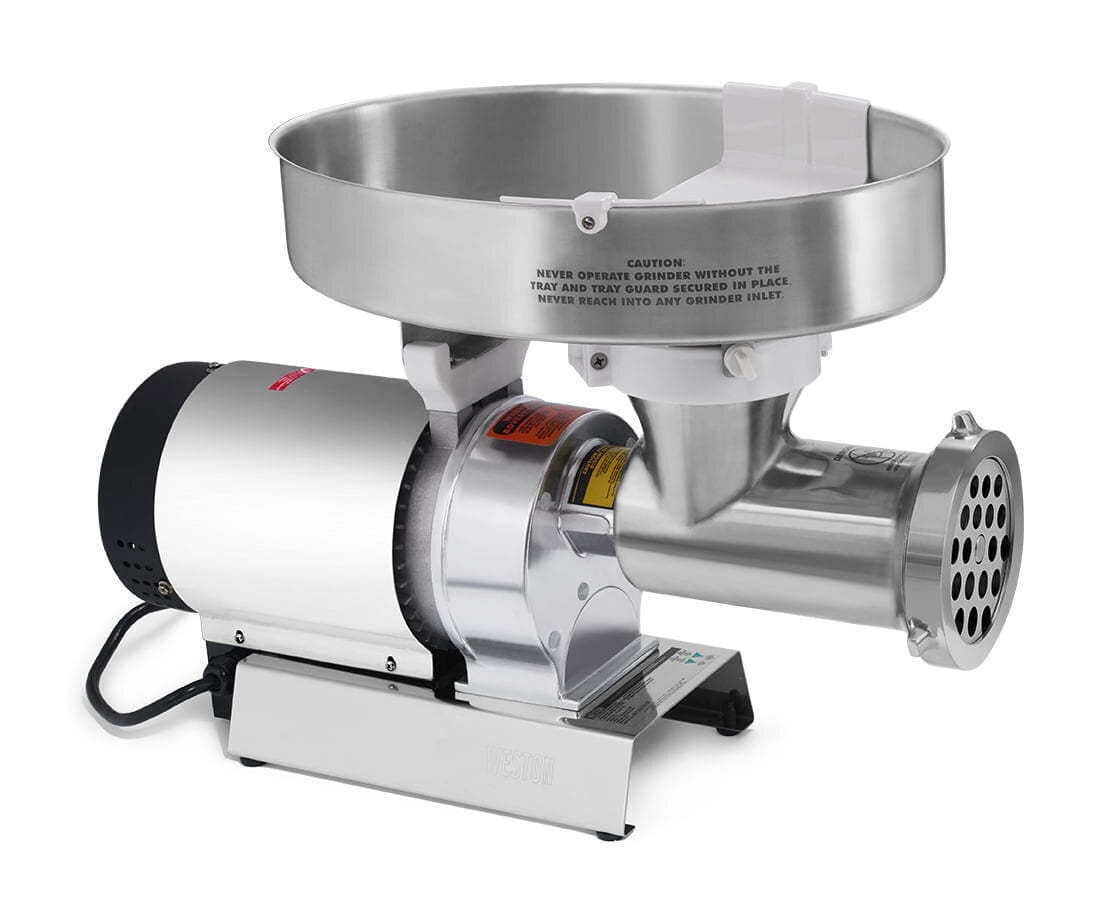 Image-of-a-metal-meet-grinder-on-a-white-background