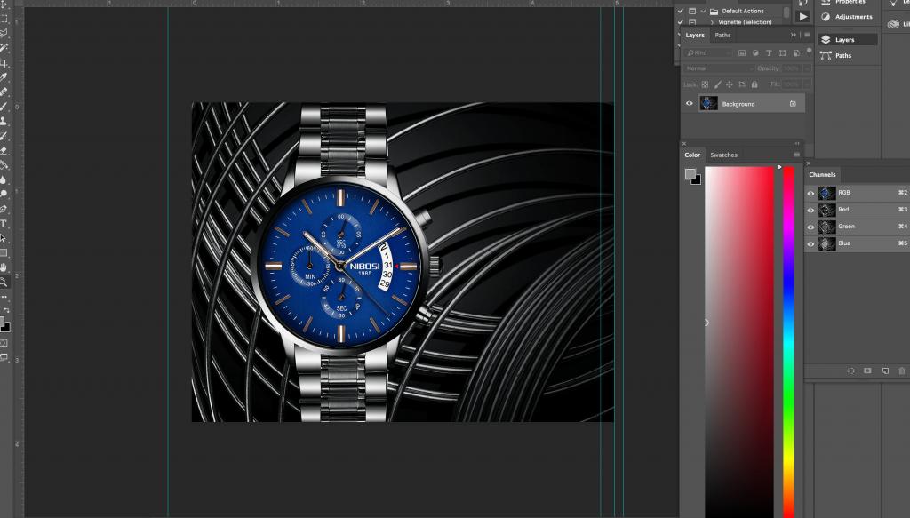 watch retouching editing