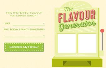 Flavor Generator by Hello Fresh
