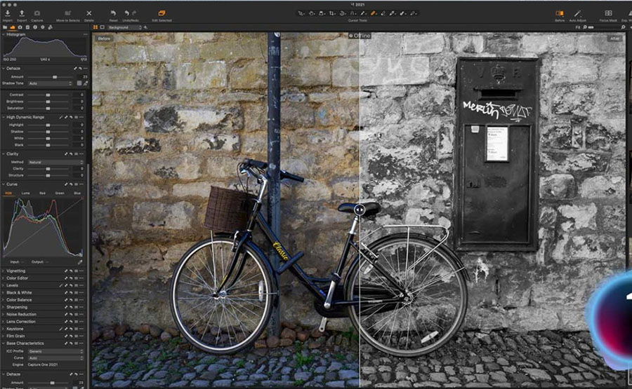 capture one pro - photography software