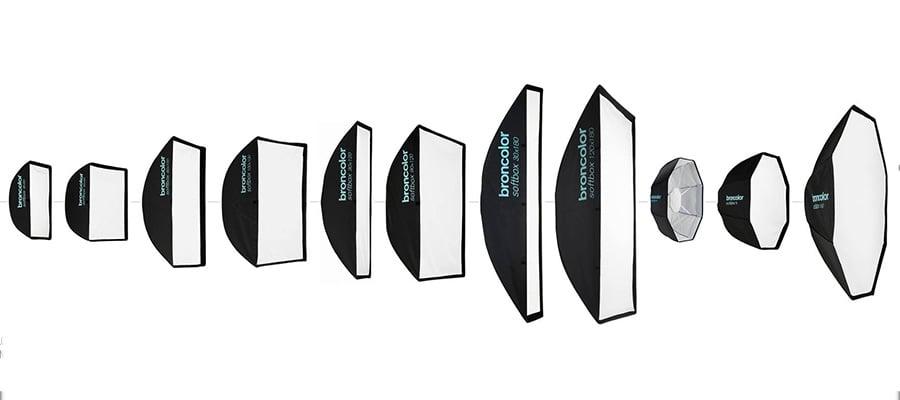 shape of a softbox