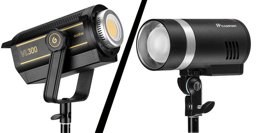 flash light vs led lights