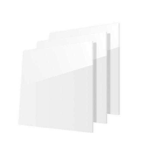 3 pack white acrylic sheet, plexiglass sheets