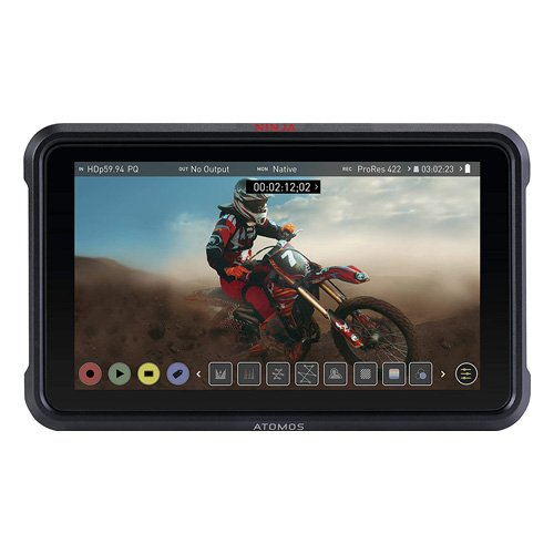 atomos ninja v 5inch touchscreen recording monitor