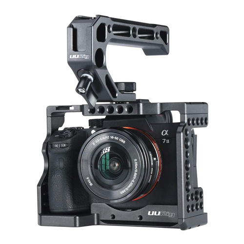 camera cage for sony standard arca style