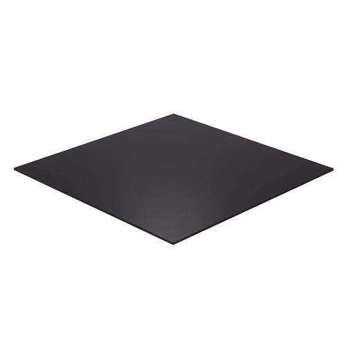 falken design bk2025-1-4 2436 acrylic black sheet