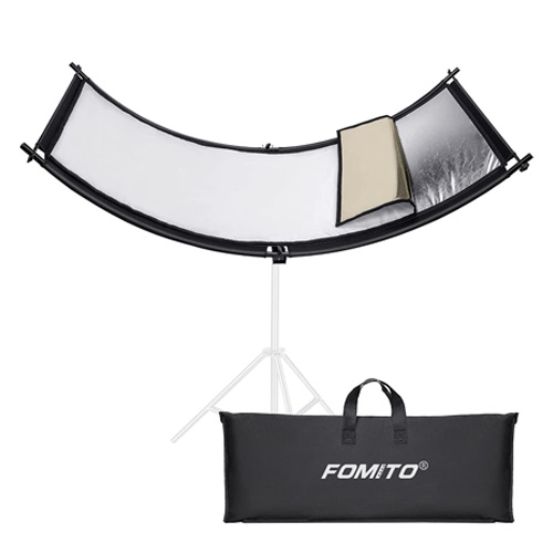 fomito clamshell light reflector 70x25.6 inch